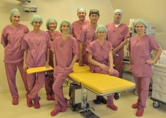 OP Team der Park-Klinik-Birnekwerder